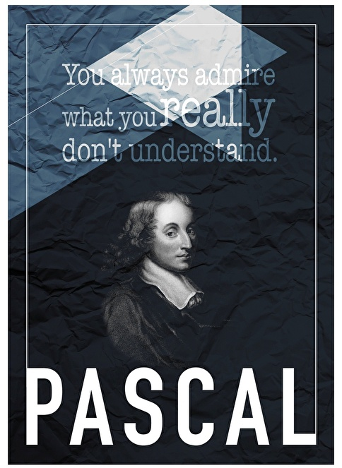 Decarthome Pascal Poster Renkli